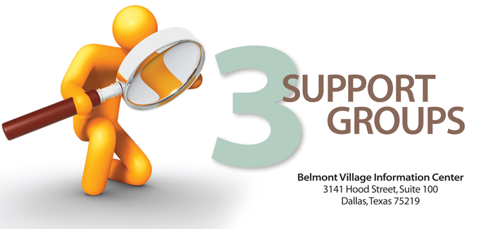 3 Support Groups