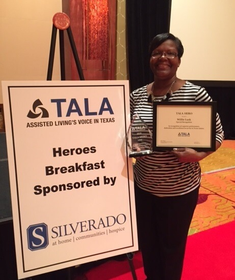 Tala Recognizes Belmont Village Caregiver