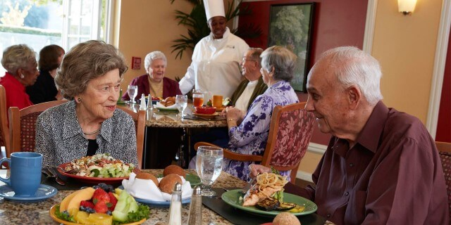 Gracious hospitality from Belmont Village, because we're here to make your life easier.
