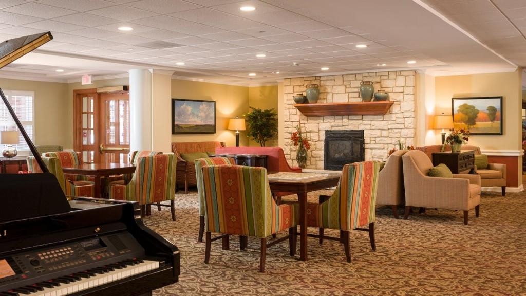 Belmont Village Oak Park Great Room