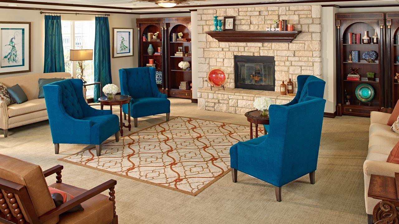 Belmont Village Rancho Palos Verdes Great Room
