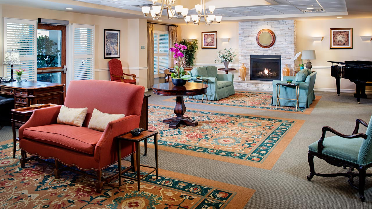Belmont Village Thousand Oaks Great Room