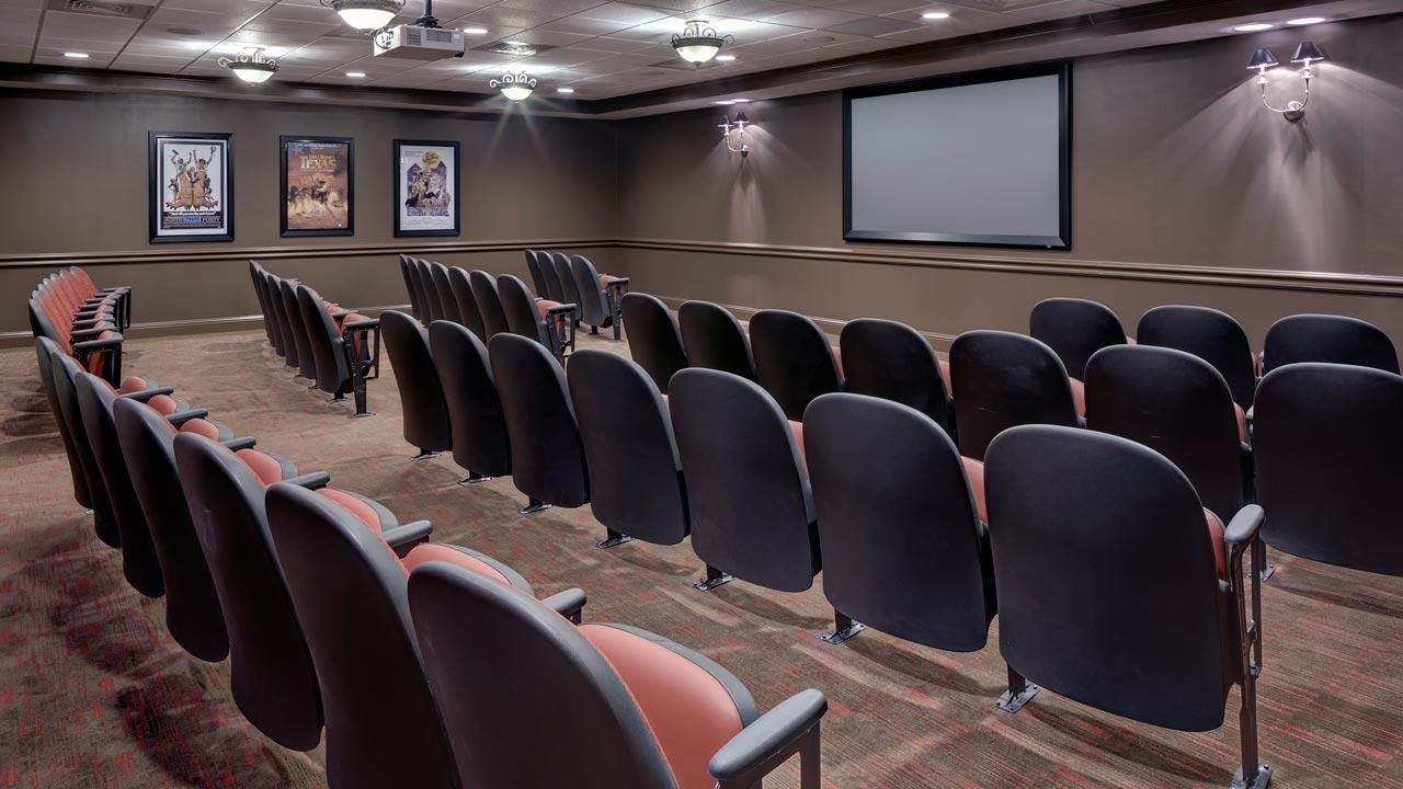 Belmont Village Turtle Creek Theatre Room