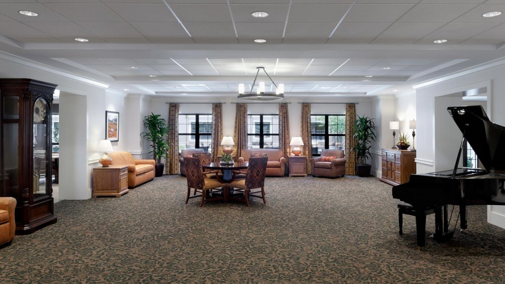 Belmont Village West Lake Hills Piano Room