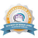 Belmont Village 2016 best of senior living advisor