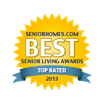 Belmont Village Location Award Best Senior Living Award 2013
