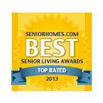 Belmont Village Location Award Best Senior Living Award 2013