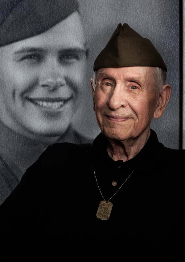 Belmont Village Heros Harold Palmer