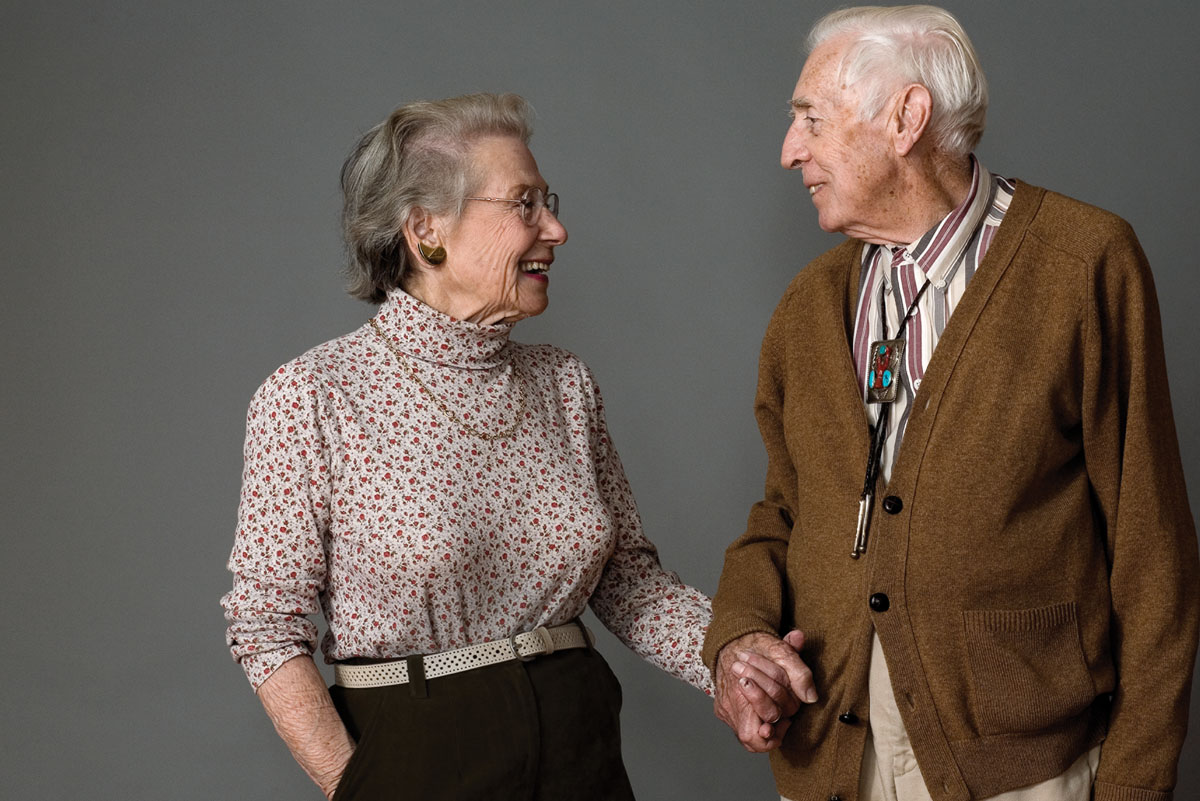 Belmont Village Stories the Miller couple
