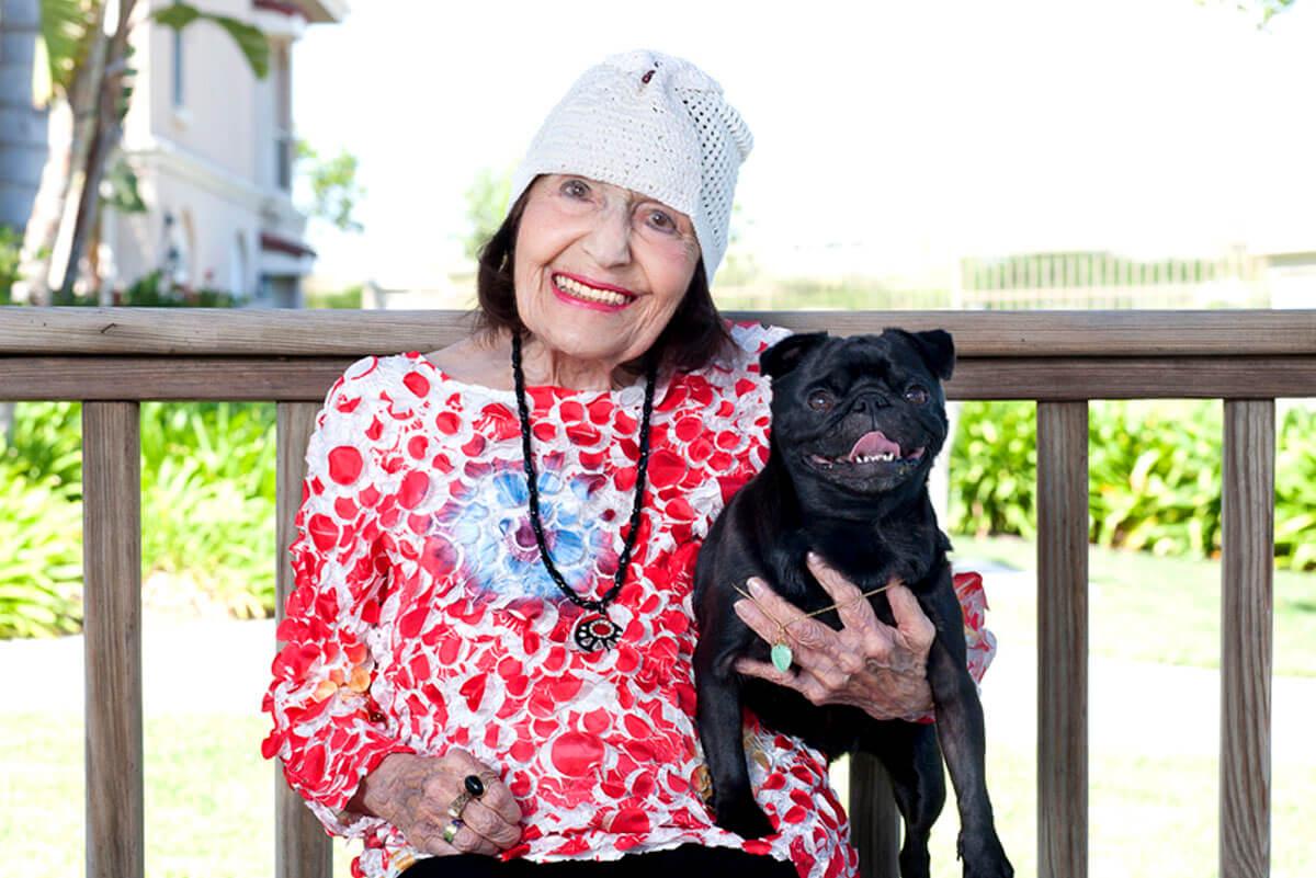 Belmont Village Pets Stories Beth Ward and Rani