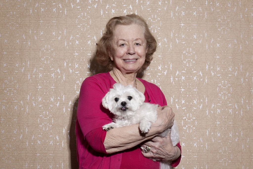 Belmont Village Pets Stories Joan Ceragioli and Louie