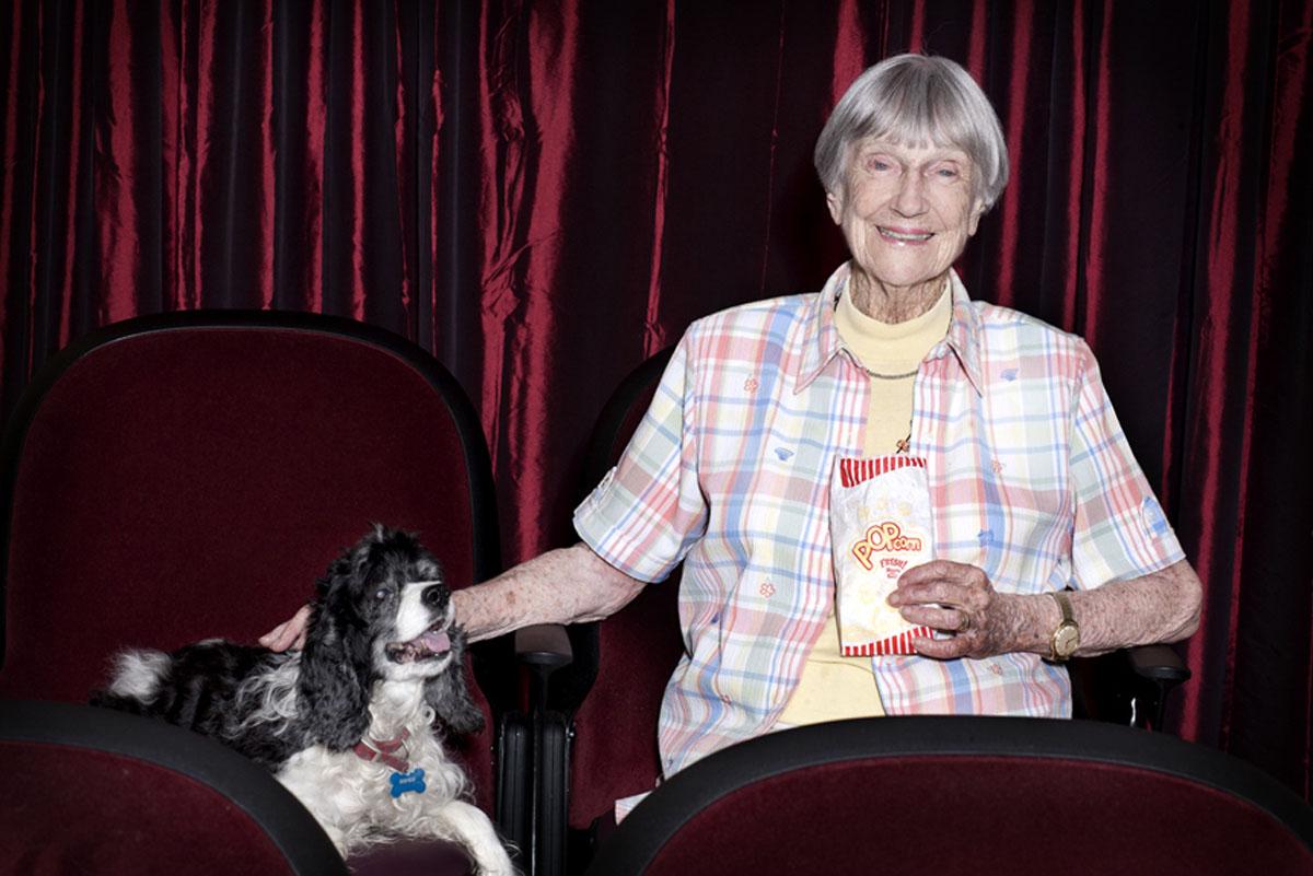 Belmont Village Pets Stories Jean McCrea and Sophie