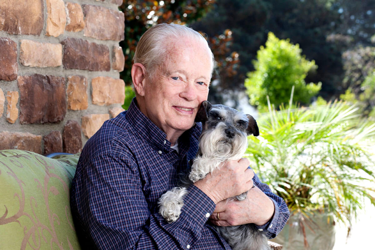 Belmont Village Pets Stories John Galey and Misty