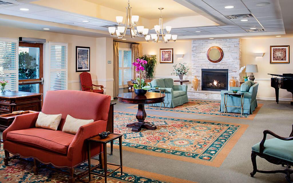 Explore Belmont Village's living spaces