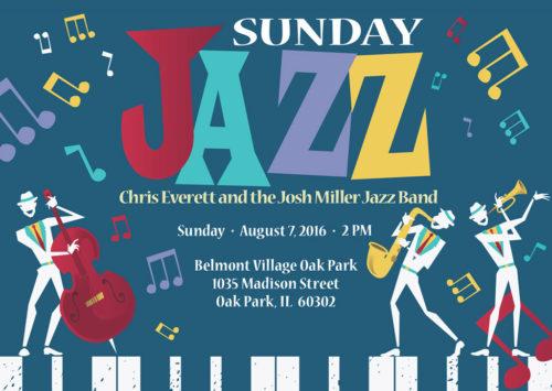 SUNDAY JAZZ – Chris Everett and the Josh Miller Jazz Band