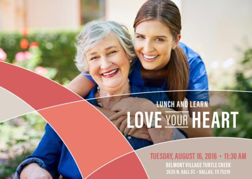 Lunch and Learn – Love Your Heart