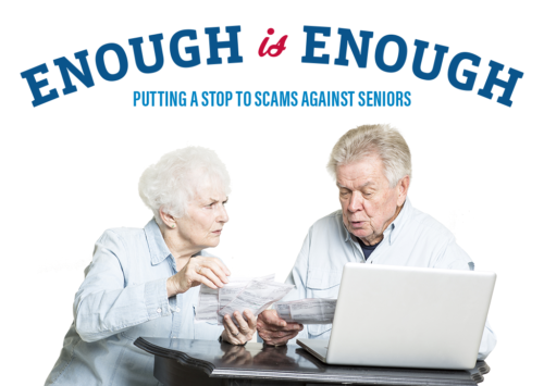 Enough is Enough: Putting a Stop to Scams Against Seniors