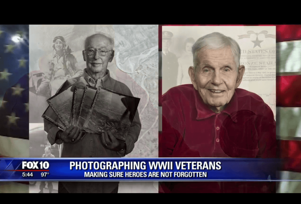 Belmont Village Scottsdale - Veterans Portraits