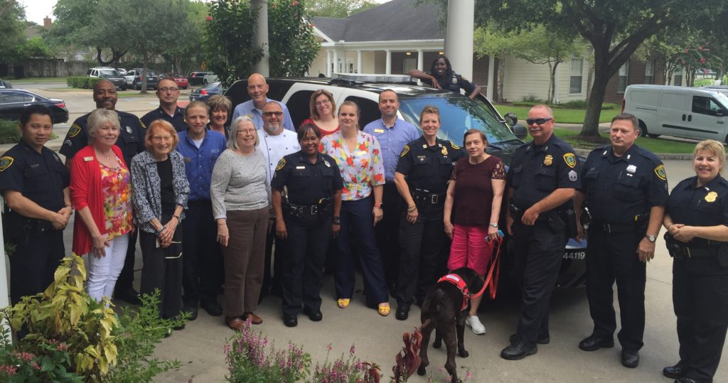 West University Residents with Houston Police