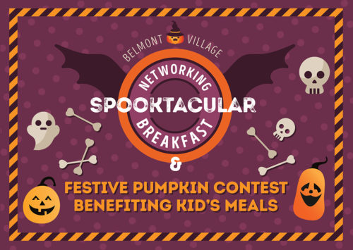 Spooktacular Networking Breakfast & Festive Pumpkin Contest Benefiting Kid's Meals