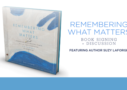 Remembering What Matters: Book Signing and Discussion