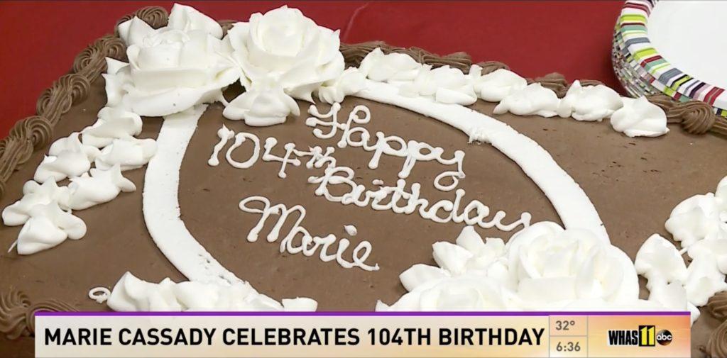 Marie Cassady Birthday Cake