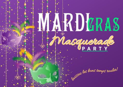 Mardi Gras Masquerade Party!