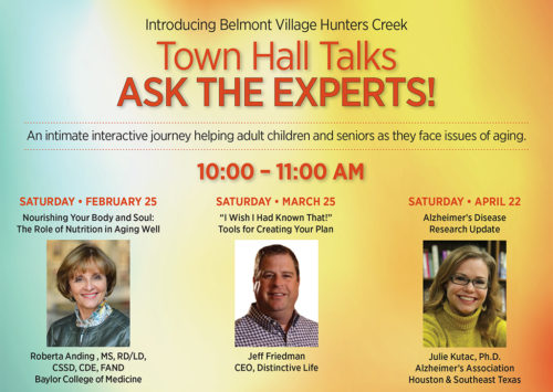 Town Hall Talks: ASK THE EXPERTS!