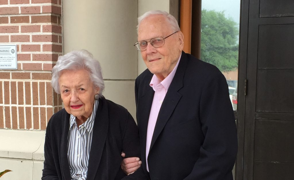 Couple celebrates 70 years together