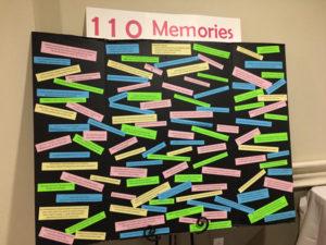 Merle's memory board