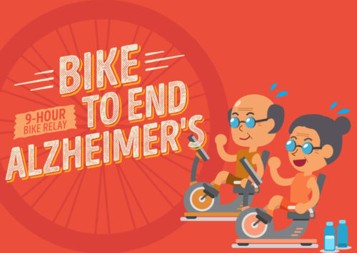 BIKE TO END ALZHEIMER'S AT BELMONT VILLAGE