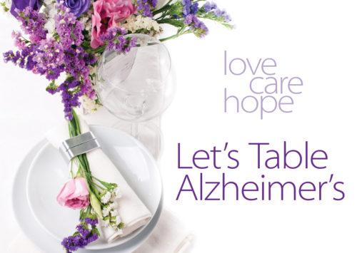 Let's Table  Alzheimer's