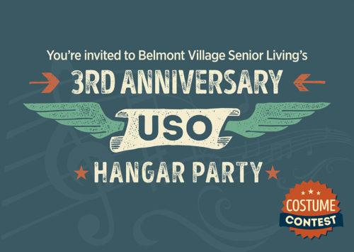 3RD ANNIVERSARY USO HANGAR PARTY