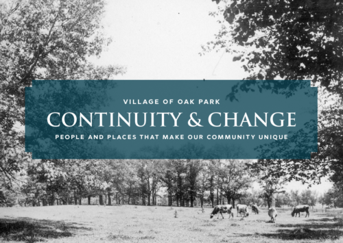The Village of Oak Park: Continuity and Change