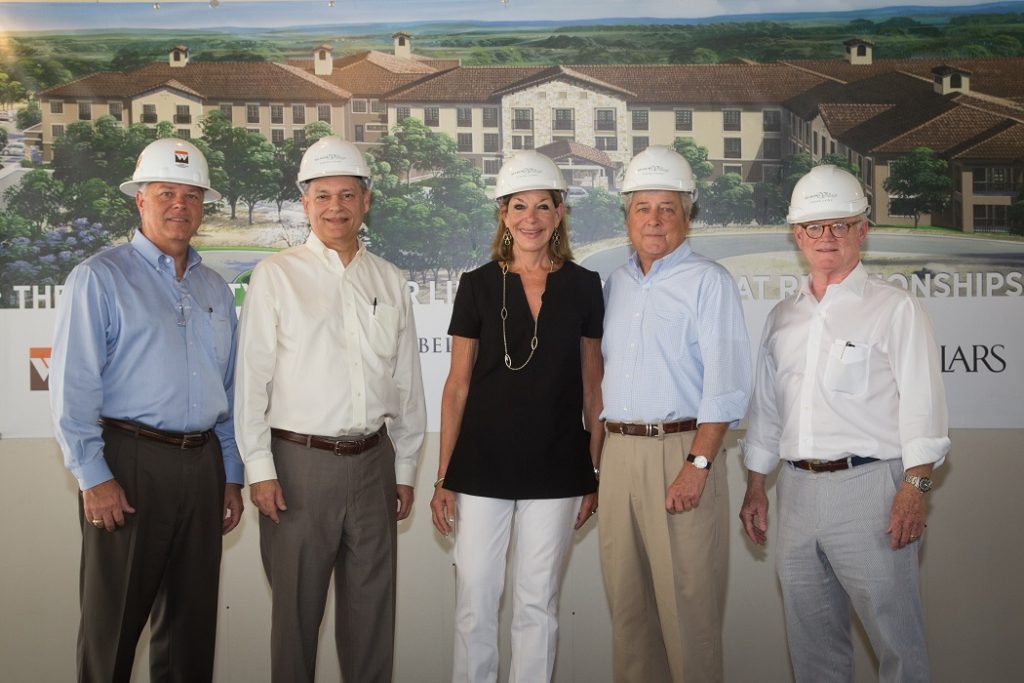 Belmont Village Senior Living Tops Out on Lakeway Community