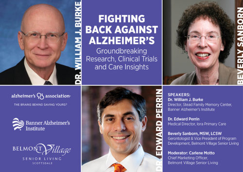 FIGHTING BACK AGAINST ALZHEIMER'S • Groundbreaking Research, Clinical Trials and Care Insights