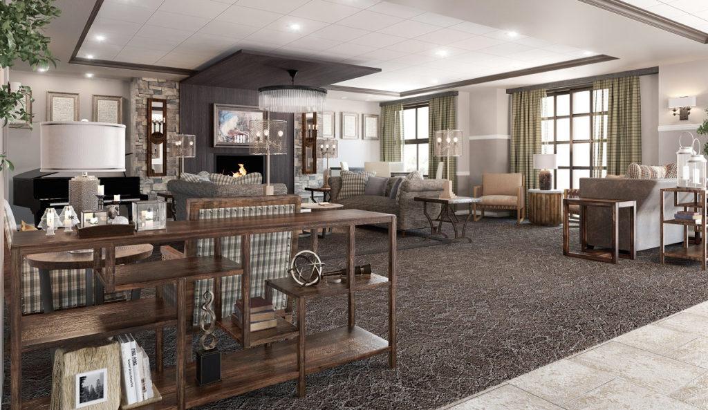 Lakeway - Great Room Artist Rendering
