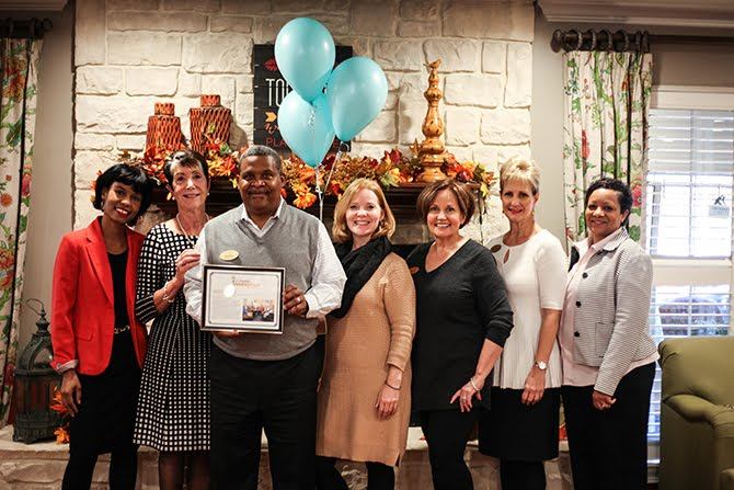 St. Matthews Receives Innovation Award for Circle of Friends