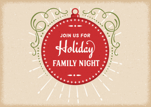 Holiday Family Night