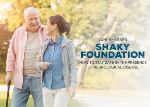 Shaky Foundation: How to Stay Safe in the Presence of Neurological Disease