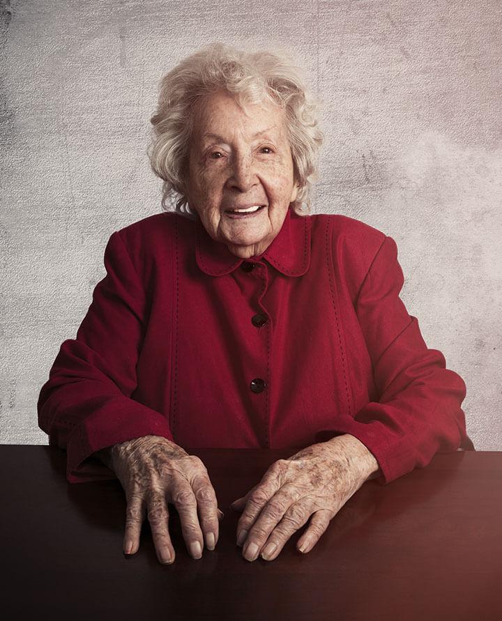 Centenarian - Louise Pendarvis