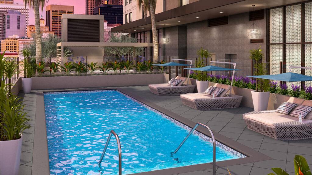 La Jolla - Pool Area