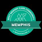 Memphis Best Memory Care Community Badge