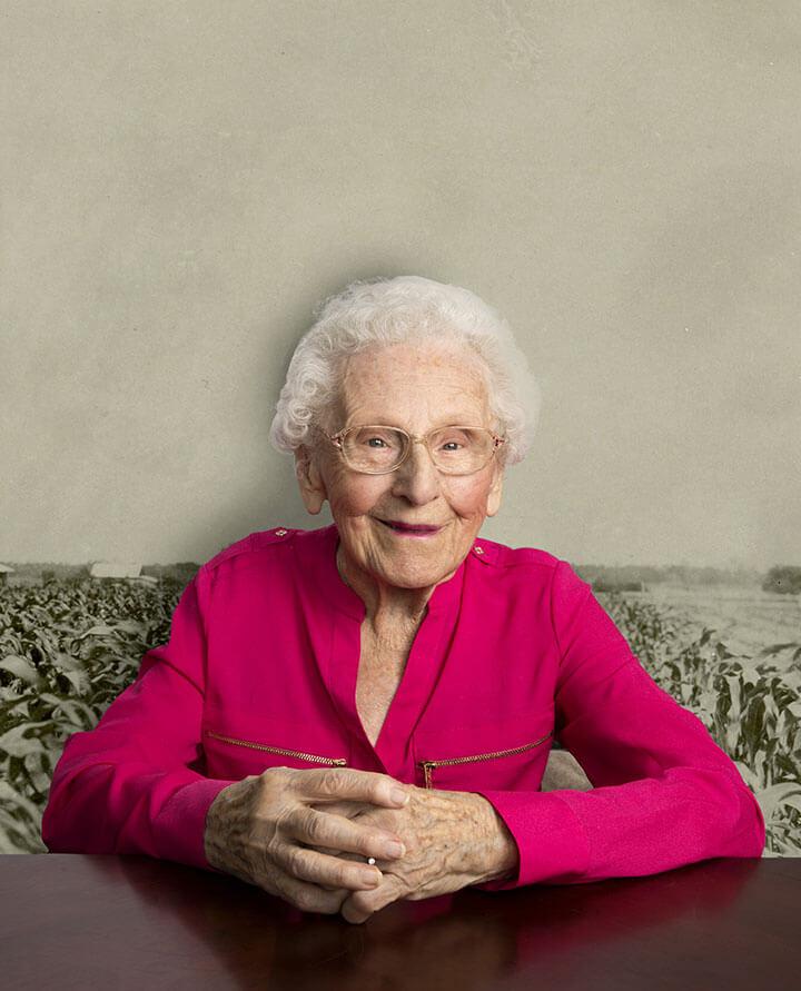 Centenarian - Jean Burja