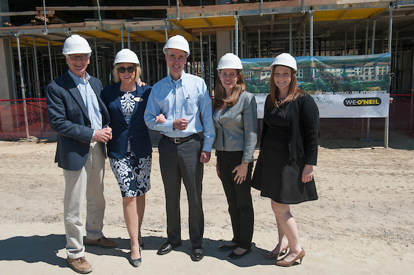 Topping out event for Belmont Village Aliso Viejo. (Photo by Miguel Vasconcellos)