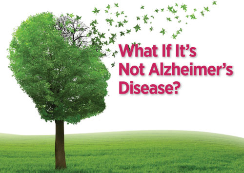 What If It's Not Alzheimer's Disease?