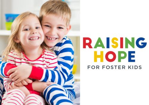 Raising Hope for Foster Kids