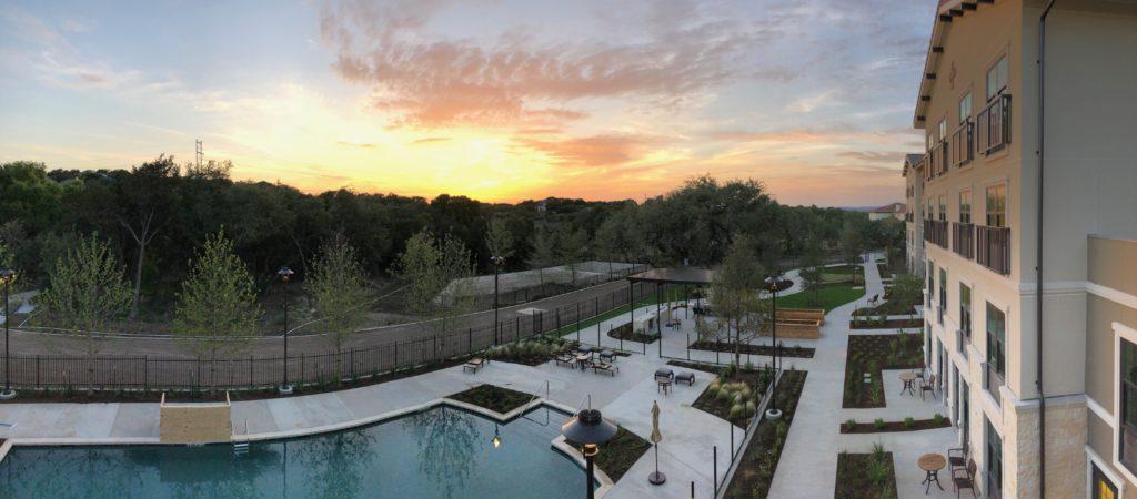 Lakeway exterior pool