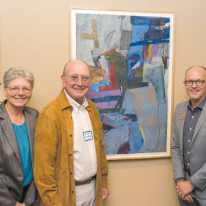 Westwood Event - Residents at Art Exhibit