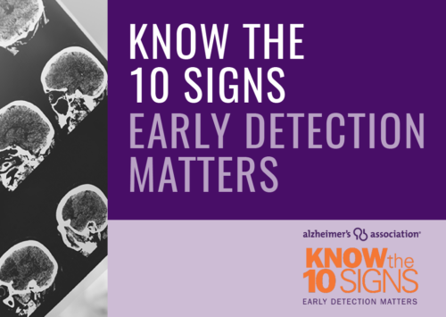 Know the 10 Signs – Early Detection Matters